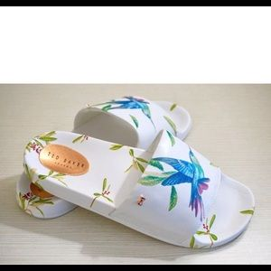 Ted Baker London Aveline Hummingbird Print Slides
